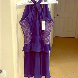 SOLD: Royal blue cocktail dress